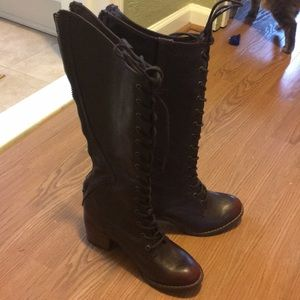 Steampunk Aviator Boots.